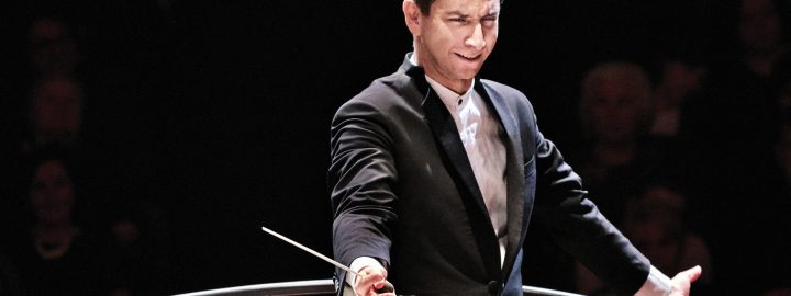 Estonian conductor Mihhail Gerts and RTÉ National Symphony Orchestra