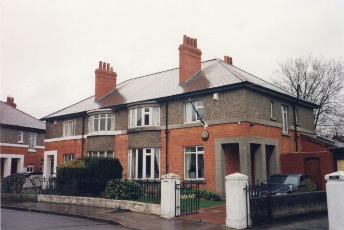 The Estonian Embassy in Dublin from 1997-2010 was located at 24 Merlyn Park, Ballsbridge. Photo: Jüri Seilenthal