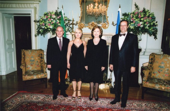 Presidents Toomas Hendrik Ilves and Mary McAleese with spouses. Photo: Archives of the Ministry of Foreign Affairs of Estonia, Erik Peinar