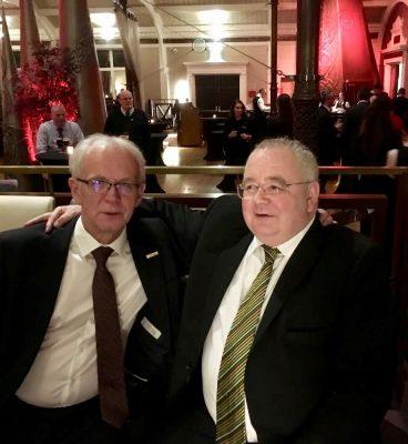 President of the Riigikogu Eiki Nestor and Speaker of the Dáil of Ireland Seán Ó Fearghaíl. Photo: Estonian Embassy in Dublin