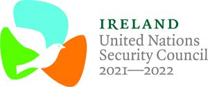 Logo of Ireland as an elected member at the UNSC